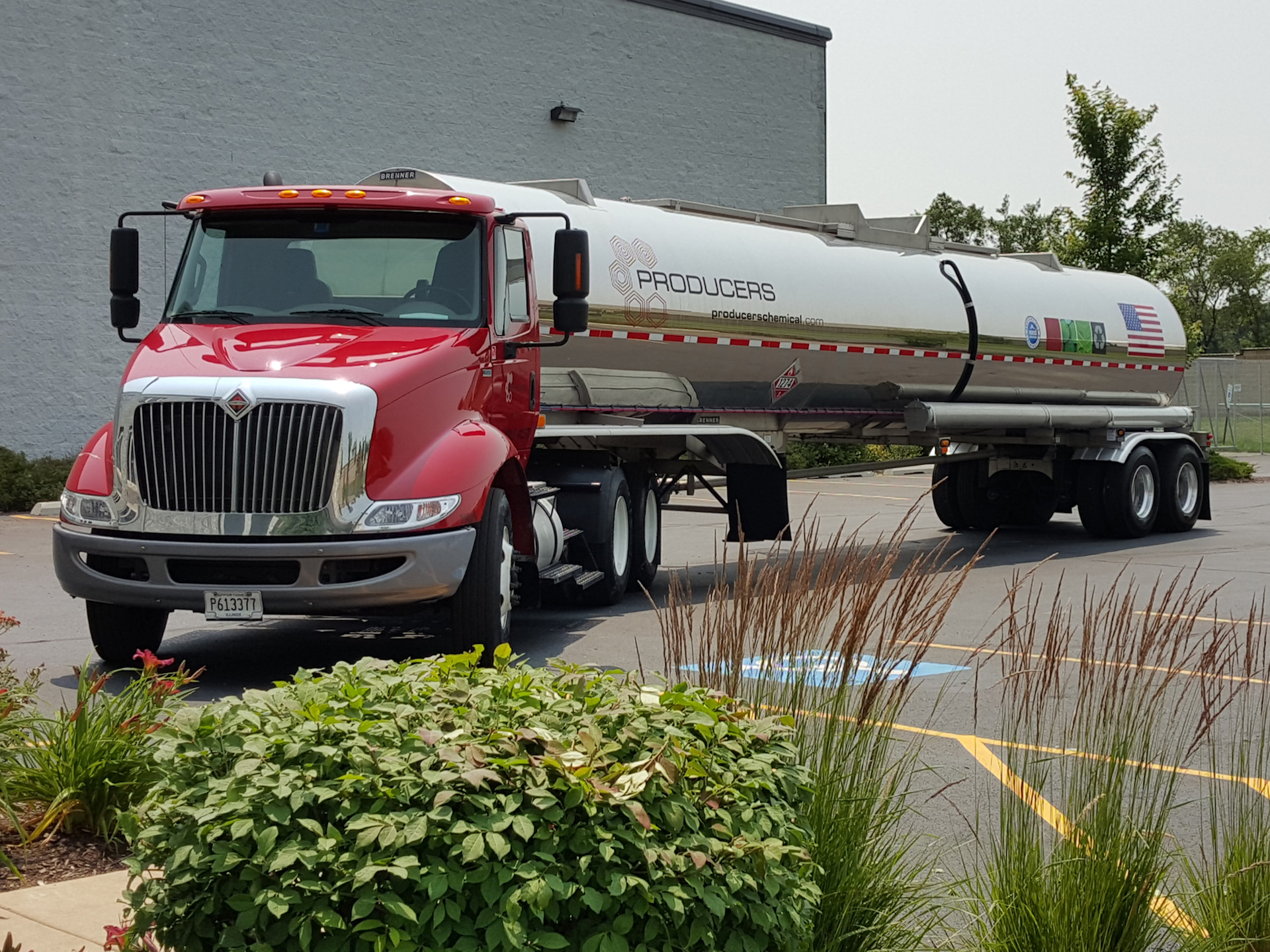 Producers Chemical Tanker Truck